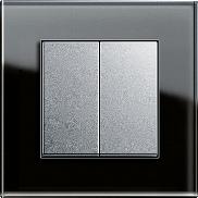 esprit черное стекло и алюминий