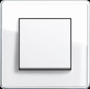 glass C белое стекло и белый глянец