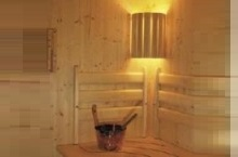 сауна светильник
