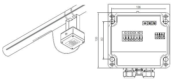 ETS-05-H2-E термостат